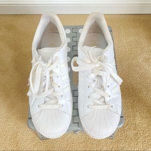 Kids Adidas Original Superstar Sneakers - White